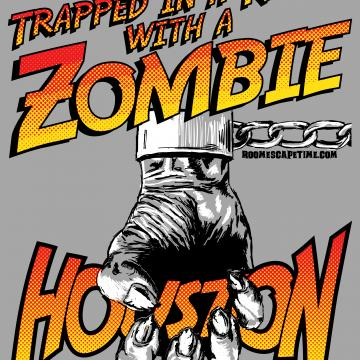 Trapped in a room with a zombie - Houston - 01