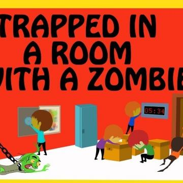 Trapped in a room with a zombie - Houston - 02