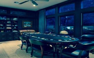 Casino Mob Boss's Office - Asheville