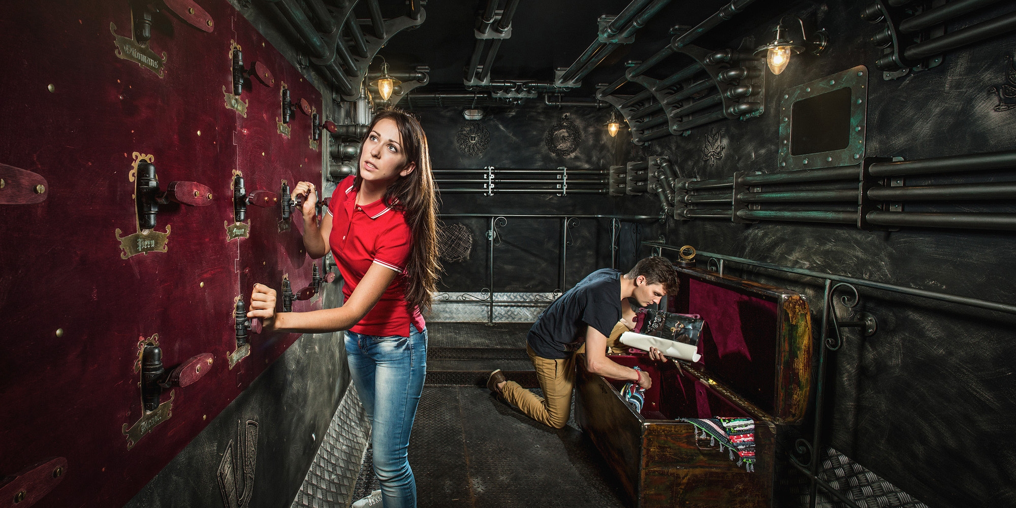 Claustrophobia Nemo Submarine Room Escape Game In Moscow