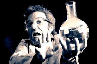 Crazy professor - Las Vegas