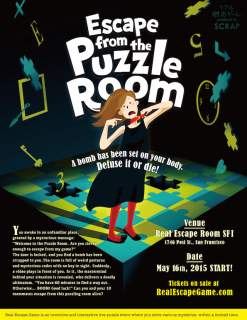 Escape from the Puzzle Room - San Francisco