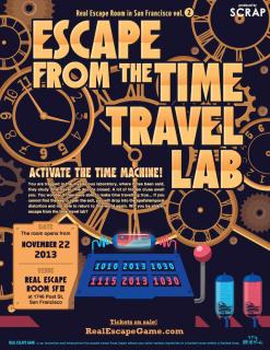 Escape from the Time Travel Lab - San Francisco