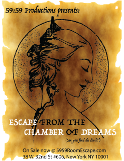 Escape from the chamber of dreams - New York